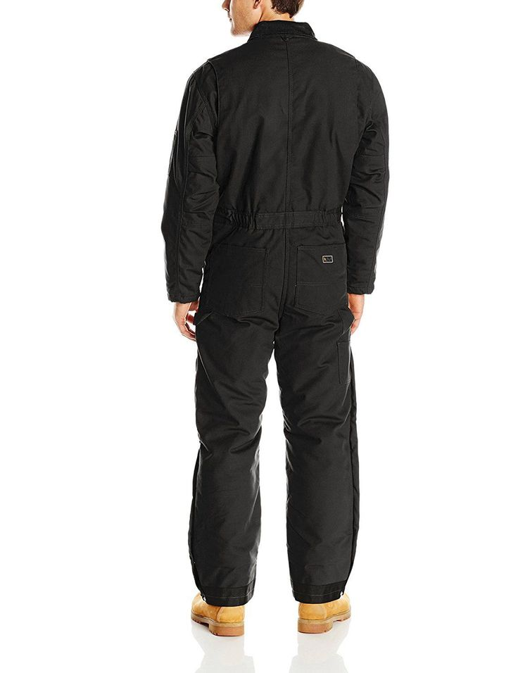 Walls Men's Blizzard Pruf Insulated Coverall, Midnight Black, XX-Large/Tall | eBay
