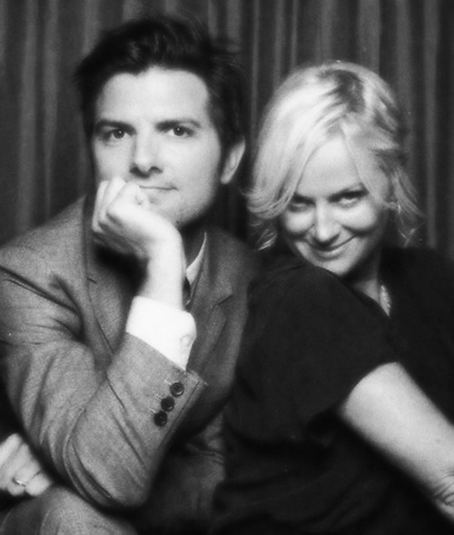 Ben Wyatt and Leslie Knope. (Played by Adam Scott and Amy Poehler). They're probably my favorite TV couple.