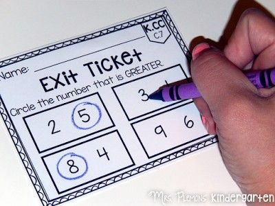 If you thought exit tickets were just for the older grades, check out these AMAZING primary common core math exit tickets. Even if you've never used exit tickets, these are SO quick and easy to use!
