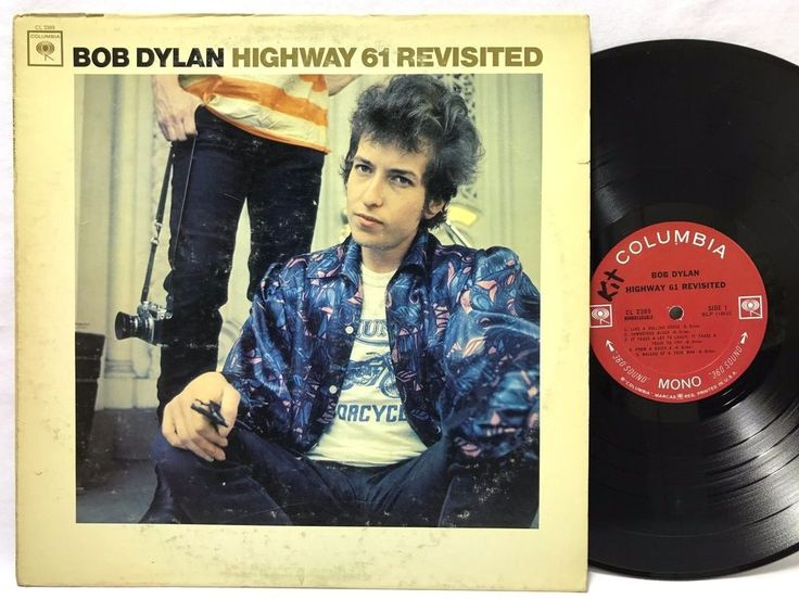 Bob Dylan - Highway 61 Revisited CL 2389 Mono Nonbreakable LP #Vinyl #Records