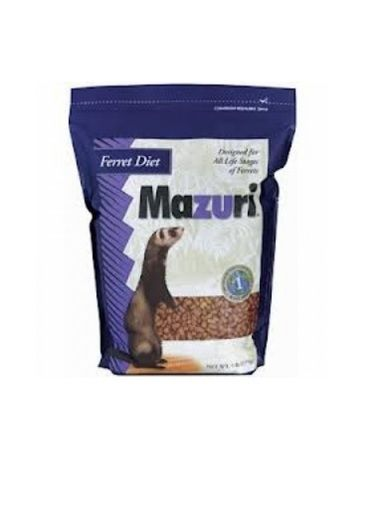 Mazuri Complete Nutrition Ferret Diet Natural Formulated Healthy Pet Food 5 lbs