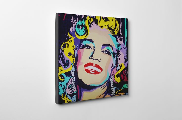 My pop art Marilyn #marilyn #popart #original #painting