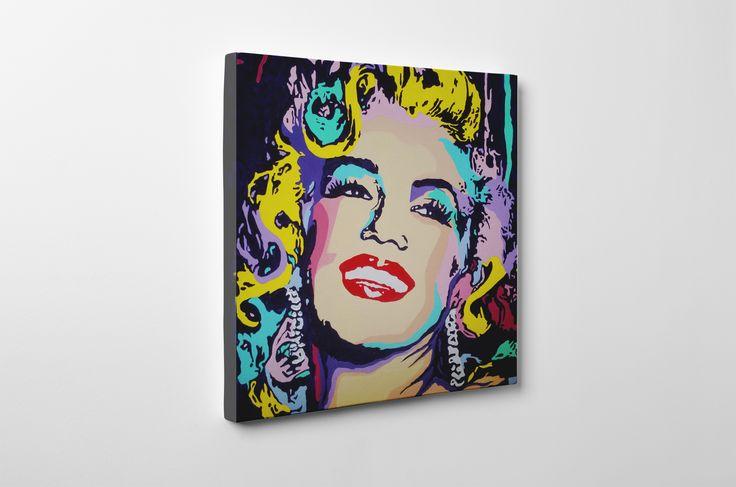 My pop art Marilyn #marilyn #popart #original #painting