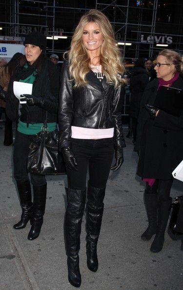Marisa Miller's so badass love the entire look