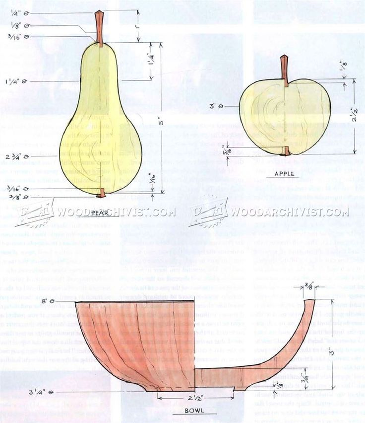 Woodturning Fruit - Woodturning