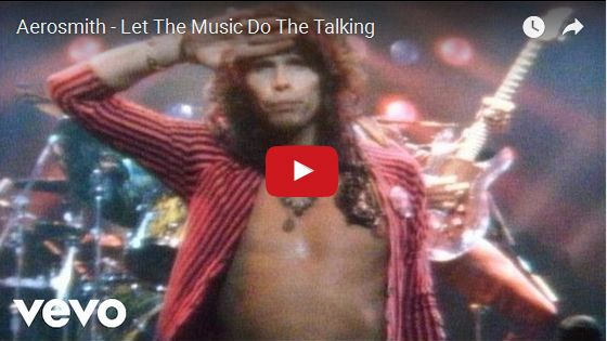 Watch: Aerosmith - Let The Music Do The Talking See lyrics here: http://aerosmithlyric.blogspot.com/2010/03/let-music-do-talking-aerosmith-lyrics.html #lyricsdome