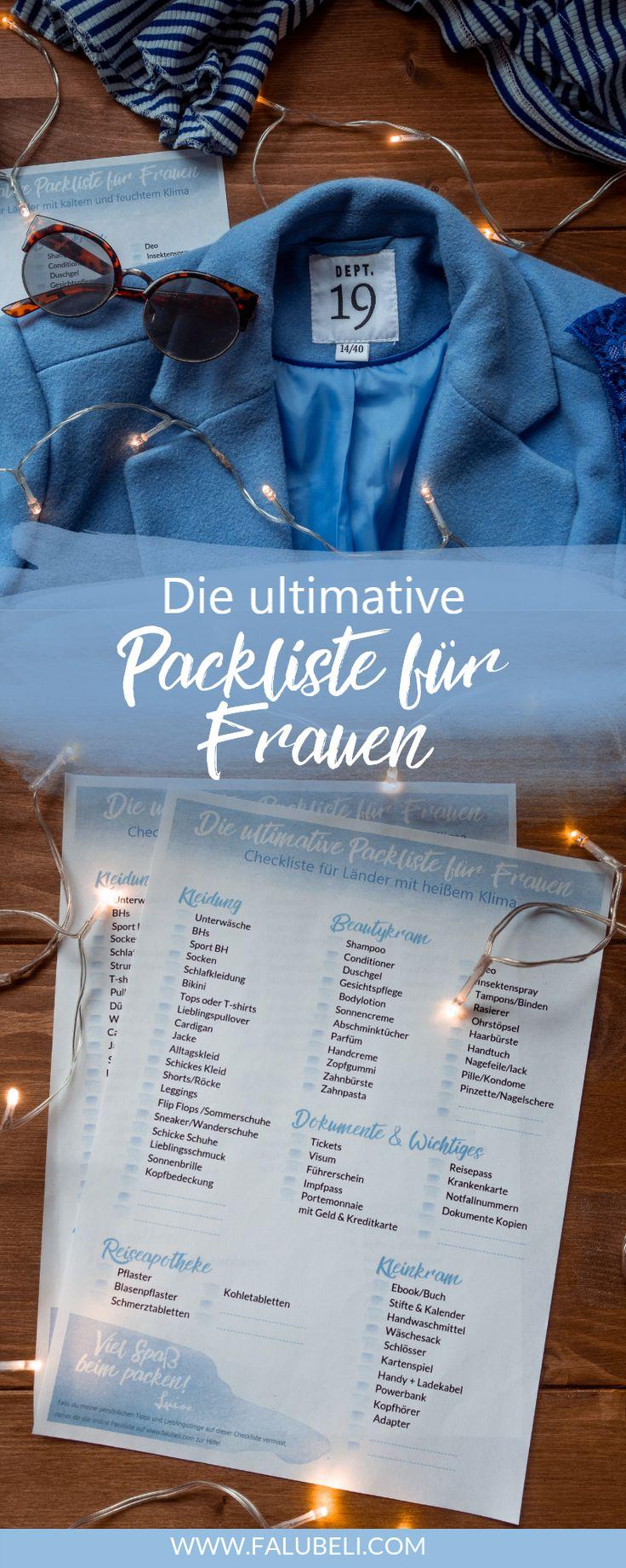 A lista de embalagem definitiva para mulheres Aqui você encontra a lista de embalagem definitiva …   – event-planing