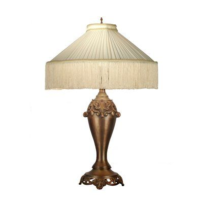 Dale Tiffany PT60907 Beige Table Lamp | $200