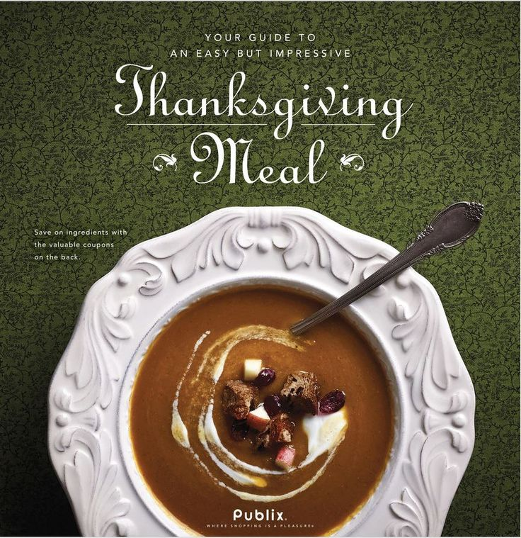 "Look for this new Coupon Booklet called ""Thanksgiving Meal"" in Publix Stores now! They are also available to print HERE. It has both Publix Store Coupons that expire 11/26/14: $0.75/1 Kraft Traditional Caramels 11 oz $1/2 Kraft Shredded Parmesan, Parmesan Romano or Asiago Cheese 7 oz $1/3 Kraft Philadelphia Cream Cheese 8 oz $1/2 Pillsbury Pet-Ritz… Continue Reading …"