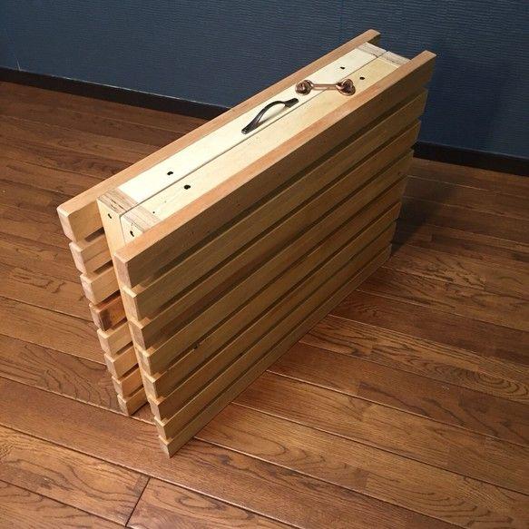 折りたたみ式ウッドテーブル|テーブル・机|diawoodworks|ハンドメイド通販・販売のCreema