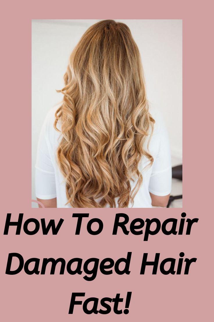 3 Easy Treatments For Split Ends Damaged hair, Hair, Dry