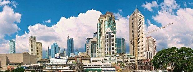 makati panorama Manila