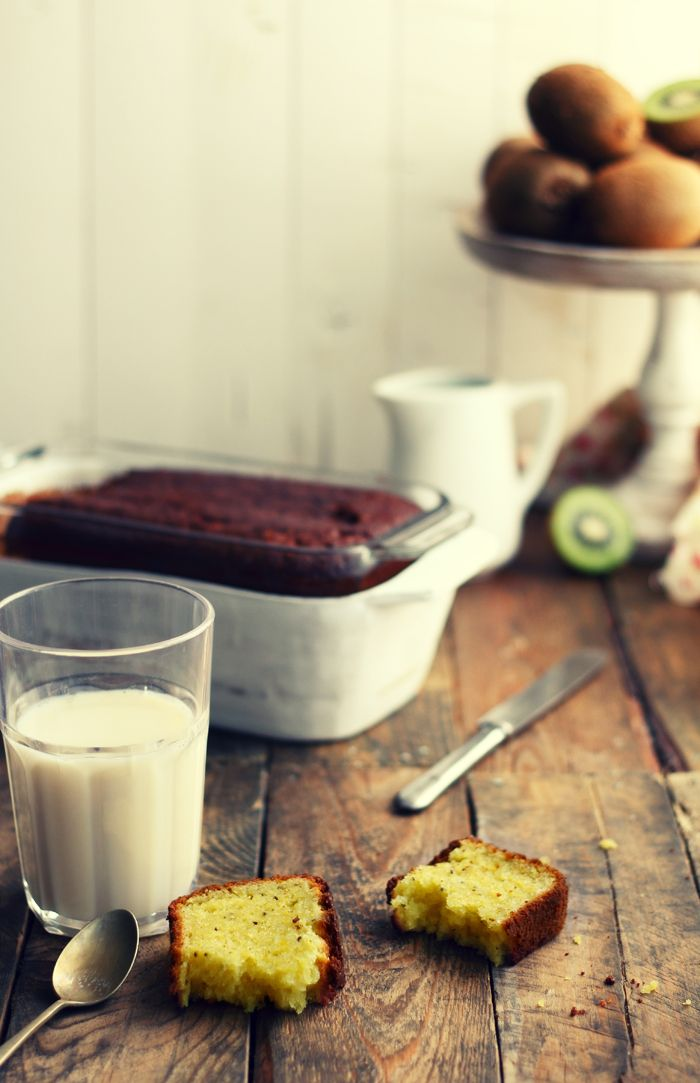 Bizcocho de kiwis (Kiwi Plumcake)   Kanela y Limón #kiwis #tiendaonline #fruta www.pinterest.com/cultivatuskiwis