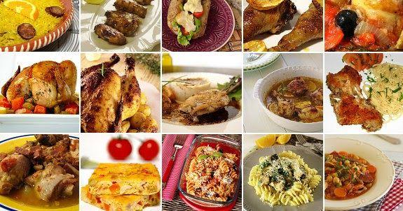 25 receitas de frango