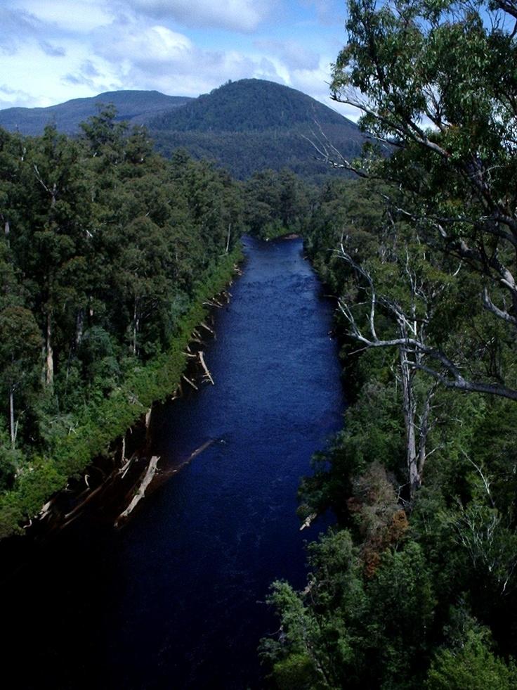 Huon River, Tasmania, Australia