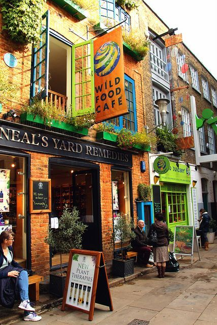 Neal`s Yard, London - Neal's Yard is a small alley in Covent Garden between Shorts Gardens and Monmouth Street which opens into a courtyard. It is named after the 17th century developer, Thomas Neale. Wikipedia