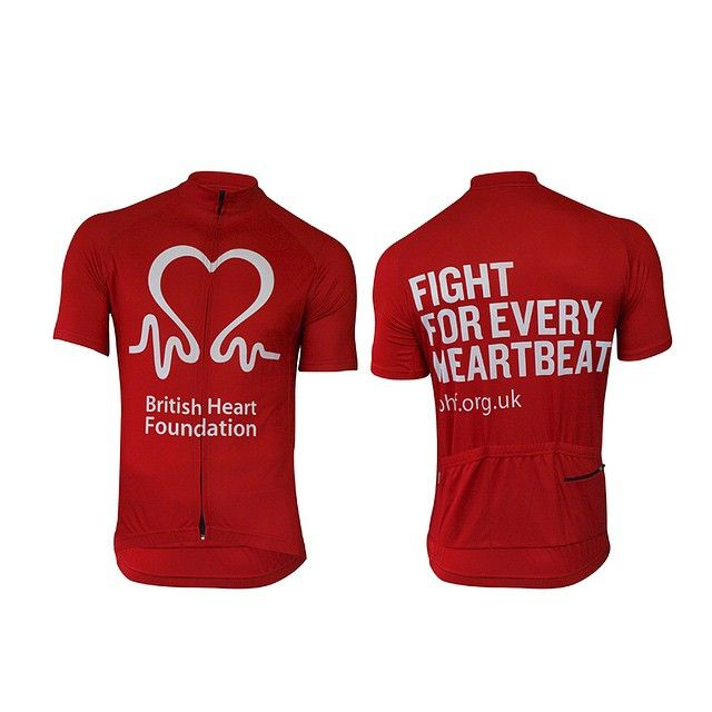 British Heart Foundation cycle jersey by Scimitar Sports.  kitspiration   cycling  jersey  f2a355652