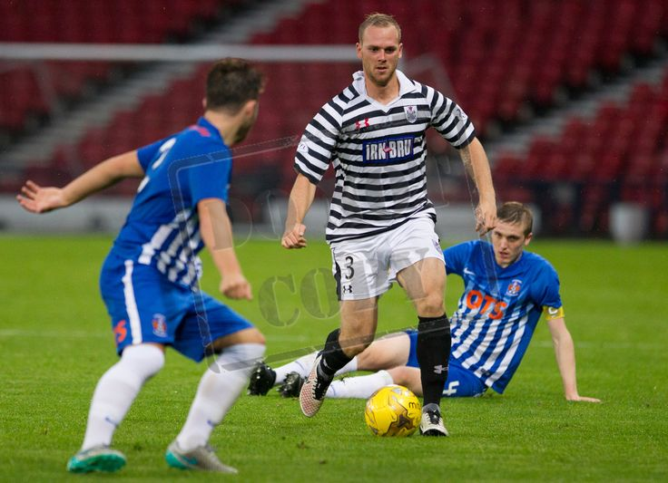 Queen's Park's Craig McLeish in action during the IRN-BRU Cup game between Queen's Park and Kilmarnock Colts.