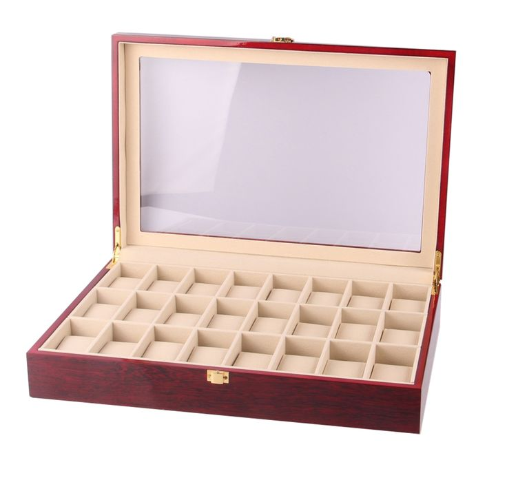 24 Slots Wooden Watches Box //Price: $149.99 & FREE Shipping //     #hashtag1