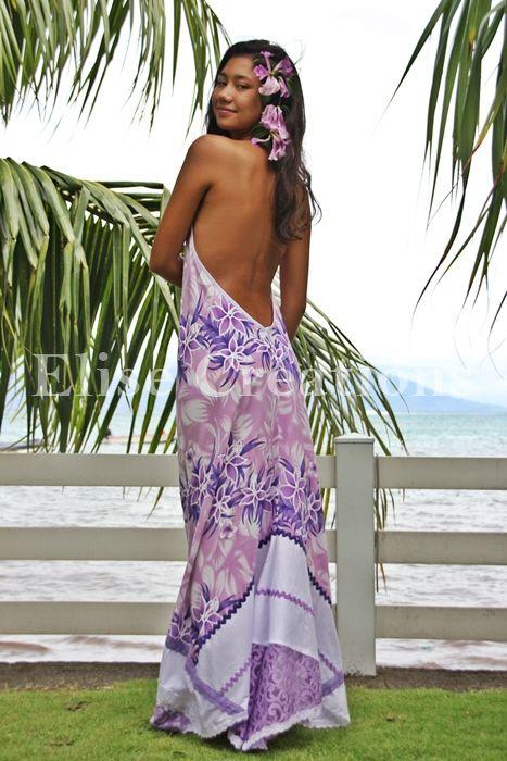 vahine en robe tahitienne tissu par o broderie robe