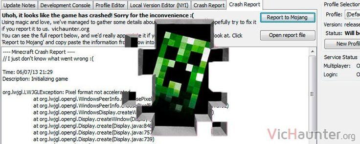 Cómo solucionar todos los errores del Minecraft -  Minecraft se ha convertido en uno de los juegos más jugados tanto por jóvenes y niños como por gran parte de los adultos que no quieren dedicarse a pegar tiros sobretodo después de la adaptación de Los juegos del Hambre. Como muchas cosas pueden salir mal vamos a ver cómo arreglar los errores de Minecraft []  La entrada Cómo solucionar todos los errores del Minecraft aparece primero en VicHaunter.org.