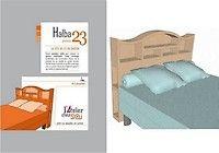 Patron meuble en carton - Tête de lit Halba 2 personnes