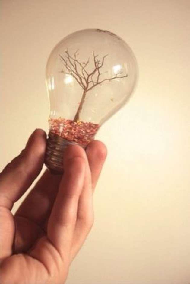 light-bulb crafts (14 pics) | Vitamin-Ha