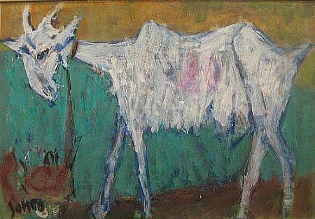 Marcel Janco, Goat - ArtBid.co.il