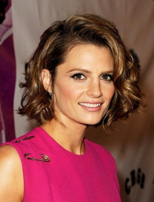 5 Peachy Curly Shag Haircuts For Short, Medium