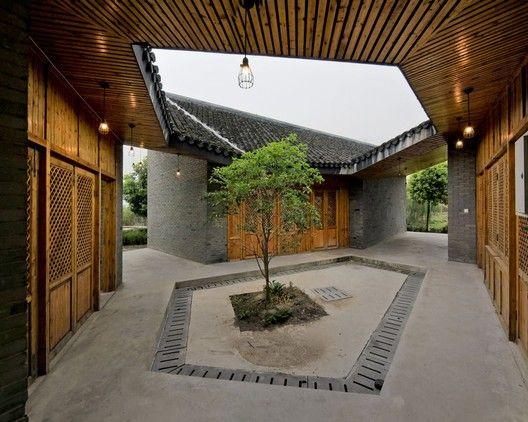 Community Pavilion at Jintao Village,Courtesy of Scenic Architecture