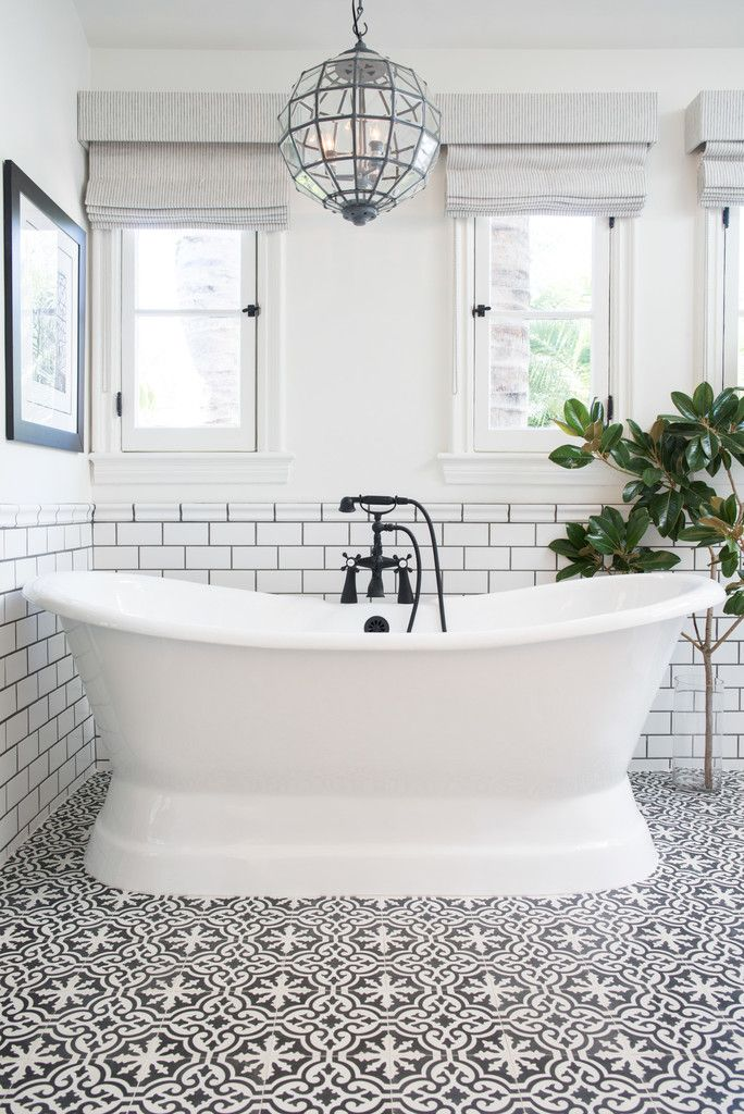 10 Ways to Turn the Bathroom into the Best Spot in the House / designed by Life.Style. via Lonny / photos by Diana Relth