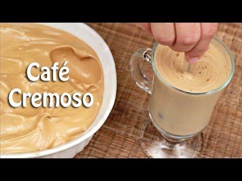 PANELATERAPIA - Blog de Culinária, Gastronomia e Receitas: Café Cremoso em Vídeo