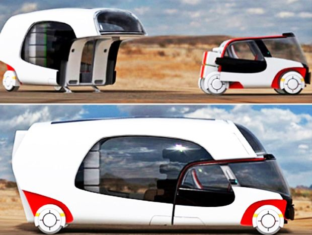 Colim, le concept associant une voiture et une caravane pour plus de flexibilité