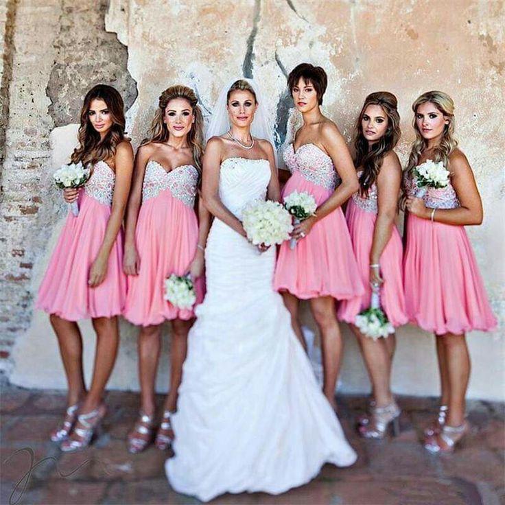 Mejores 91 imágenes de bodas damas de honor en Pinterest | Damitas ...