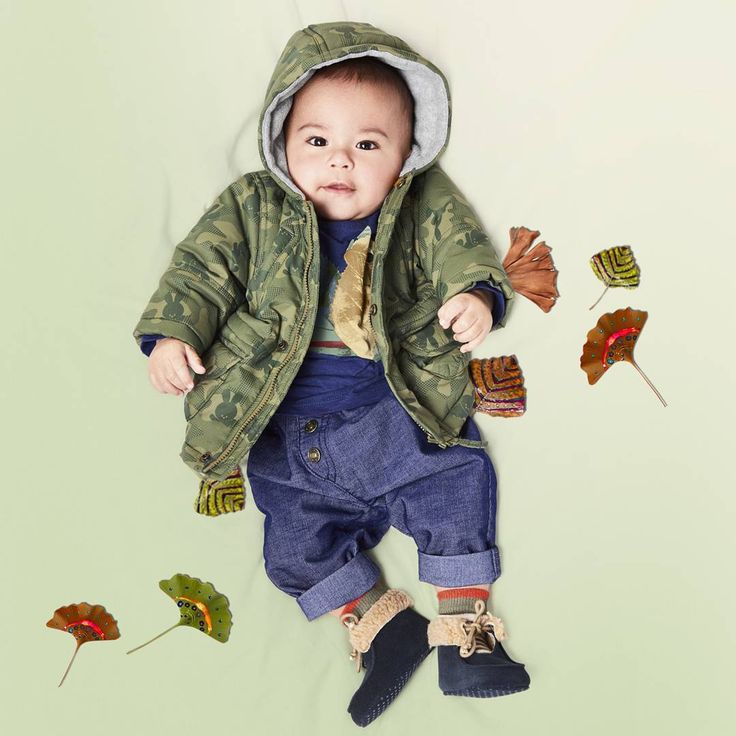 You're never too small to start discovering. #Benetton #FW17 #baby #camouflage #outfit