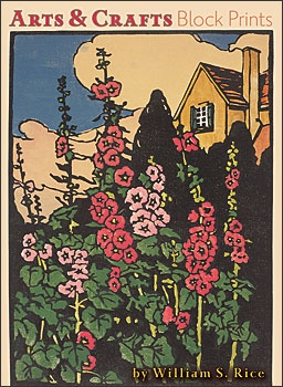 Arts& Crafts block prints by William Rice