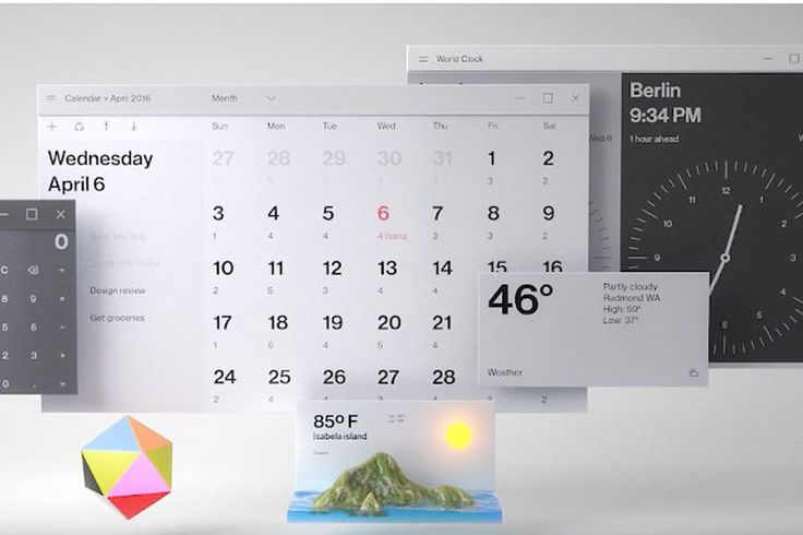 Microsoft's design video features a completely redesigned desktop and email app - The Verge