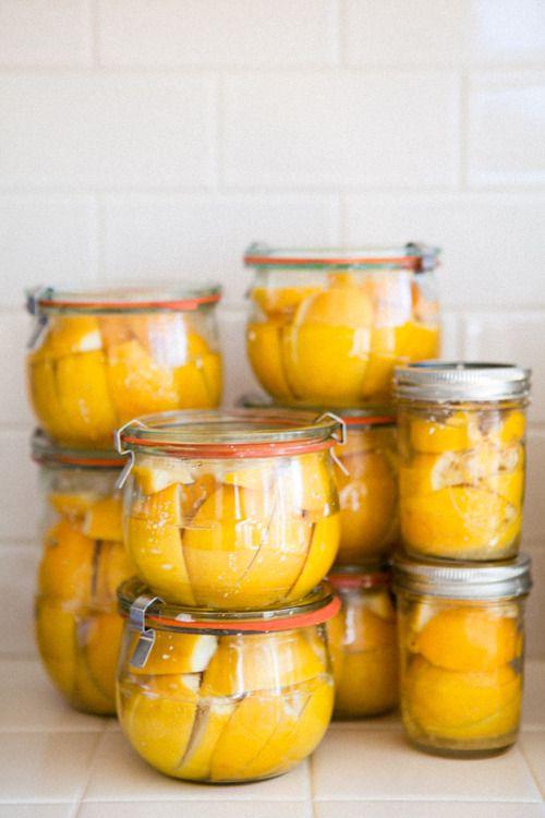 Preserved Lemons :: YummySupper