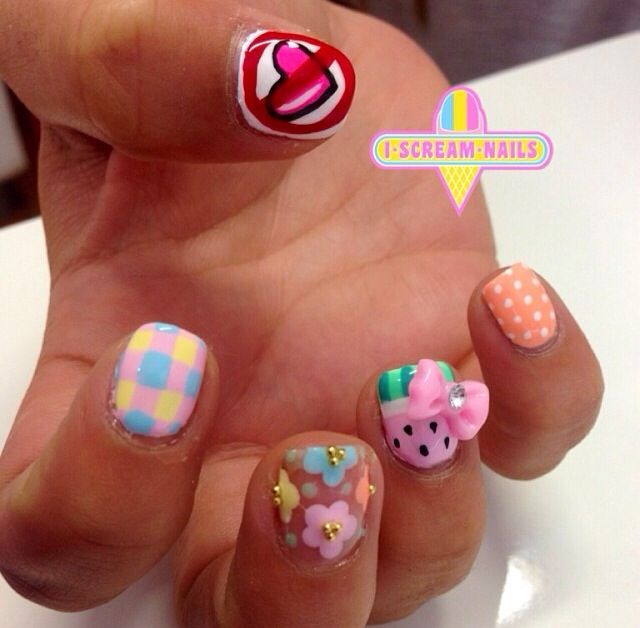 75 best i scream nails nail art images on pinterest nail nail at i scream nails prinsesfo Images