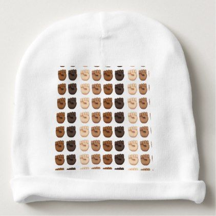 HEAR OUR VOTE WOMEN'S MARCH 2018 JANUARY BABY BEANIE  $11.60  by MoeWampum  - cyo customize personalize unique diy