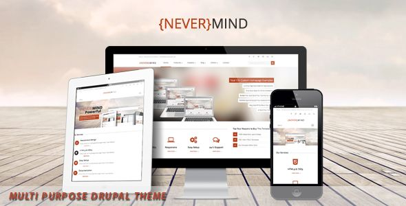 NeverMind- Multi Purpose, eCommerce Drupal Theme (Drupal)