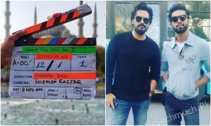 Shooting For Jawani Phir Nahi Ani 2 Kickstarts In Turkey, celebrities, pakistani film, upcoming film, latest film, fahad mustafa, humayun saeed, JPNA2
