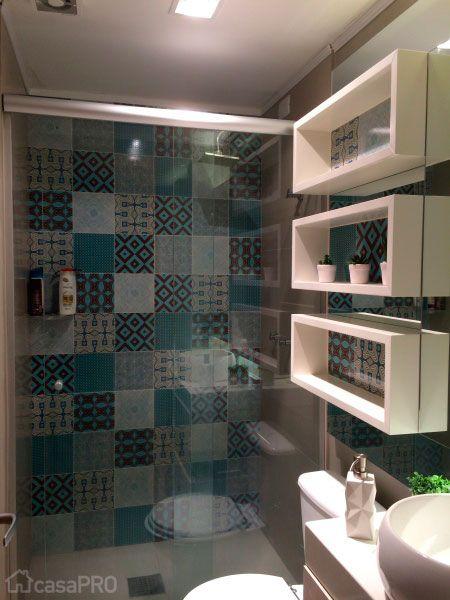 50 banheiros projetados por profissionais de CasaPRO - Casa / inspiração / banheiro pequeno