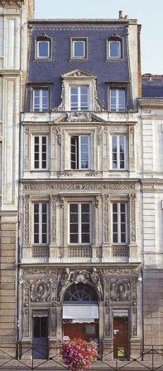 Hôtel Barré, 5 quai de Chateaubriand, Rennes