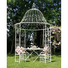 Buy St Rimini Gazebo and Table at Guaranteed Cheapest Prices with Rapid Delivery available now at Greenfingers.com, the UK's #1 Garden Furniture Store