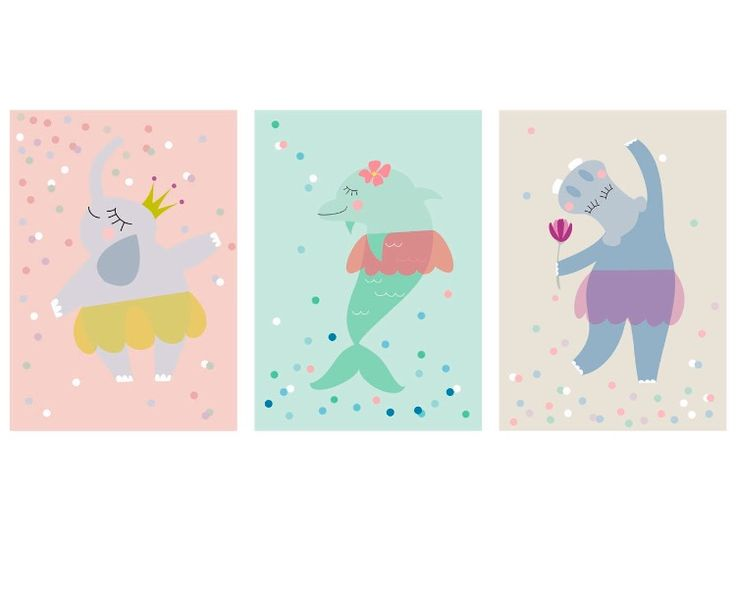 Our dancing princesses trio!😊 If you like these cuties please check our Etsy shop! #twowallnuts #etsy #etsytwowallnuts #dolphin #elephant #hippopotamus #summer #turquise #pink #summerprint #dancing #ballerina #blue #princess #childrenswallart #illustration #childrensroomprint #kidsroom #kidsprint #childrensart #homedecor #decor #art #arts #drawing #childrenillustration #illustrator #childrenillustrator #illustrators