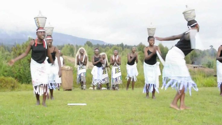 Traditional African dance performance in Rwanda- shows one of the many different ways African cultures worship.