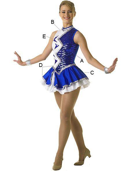 ... Algy 129 00 Dance Team Uniforms Baton Color Guard Uniforms Winter