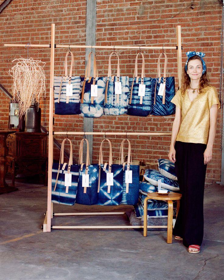 Shibori bags - Le Renard: Photo