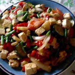 Tofu et légumes sucrés-salés @ qc.allrecipes.ca